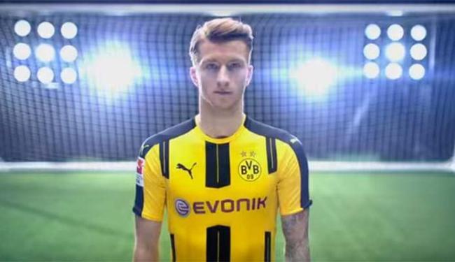 Marco Reus, do Borussia Dortmund, é um dos personagens do Fif - Foto: Divulgação
