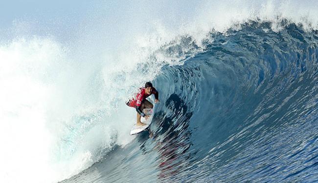 Medina deu show nas ondas de Fiji e ficou com o título - Foto: Kelly Cestari l WSL