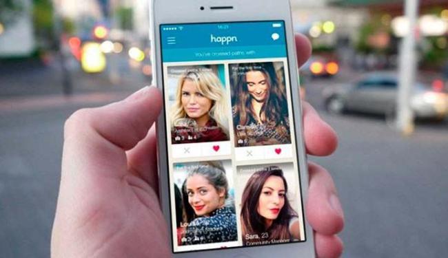 No Happn, as pessoas que aparecem cruzaram com você e também tinham o aplicativo - Foto: Divulgação