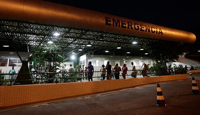 Marion levou um tiro no seio e está internada no Hospital Geral do Estado - Foto: Margarida Neide   Ag. A TARDE