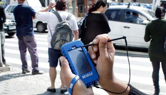 Selecionados no concurso vão trabalhar como agentes de pesquisa e mapeamento do IBGE - Foto: Euclides Oltramari Jr.   AE   31.8.2010