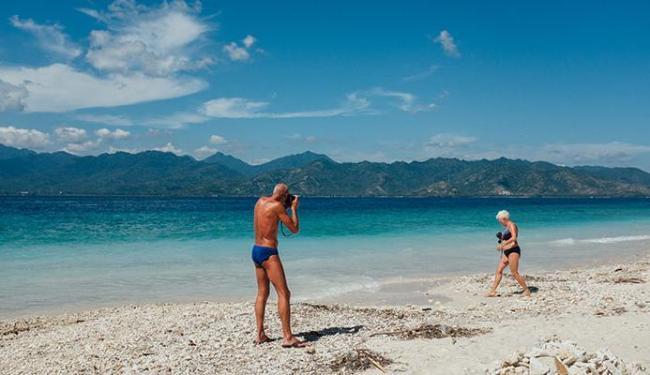 Mar cristalino é um dos destaques da Indonésia - Foto: Felipe Blanco | Ag. A TARDE