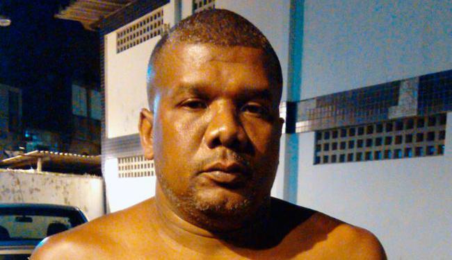 Jackson de Jesus Santos tentou fugir, mas foi capturado e confessou o crime, segundo a polícia - Foto: Divulgação | Polícia Militar