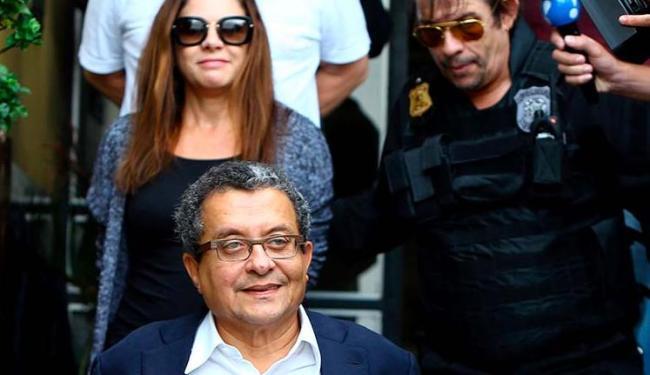 João Santana e a mulher foram presos quando chegaram ao Brasil em fevereiro - Foto: Rodolfo Buhrer | Agência Reuters