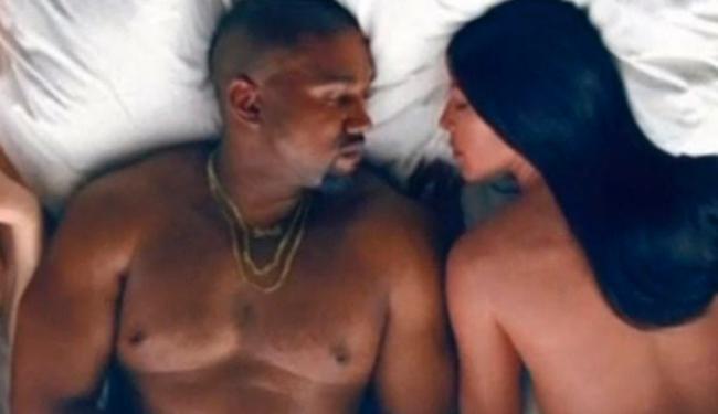 Kanye West reúne celebridades nuas em clipe polêmico - Foto: Foto | Reprodução