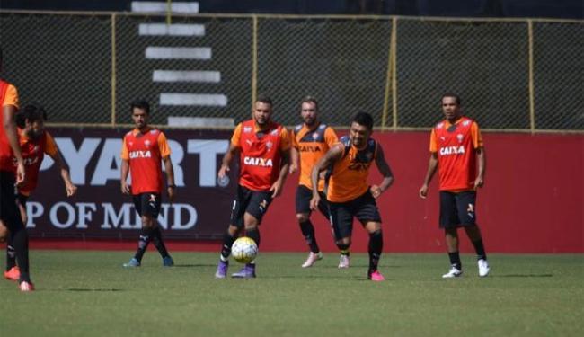 Elenco do Leão volta a treinar neste sábado, antes de viajar para o Rio de Janeiro - Foto: Francisco Galvão | E.C.Vitória