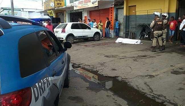 Morte teria sido causado por discussão por R$ 10 - Foto: Aldo Matos | Acorda Cidade