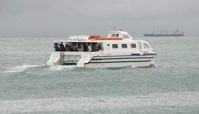 Travessia marítima do sistema Salvador-Mar Grande foi suspensa na manhã desta terça-feira - Foto: Gildo Lima   Ag. A TARDE