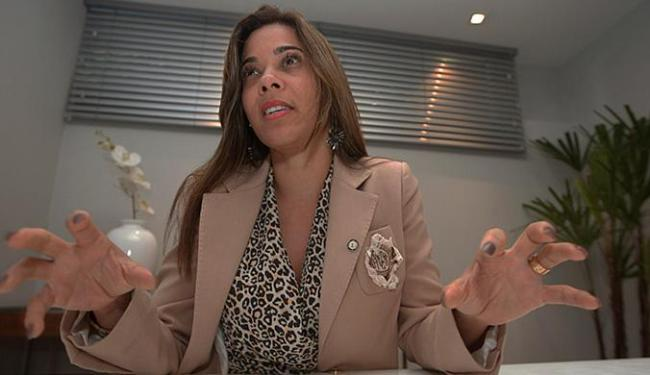A presidente da UPB, prefeita Maria Quitéria, considera que as perspectivas são cada dia piores no p - Foto: Margarida Neide l Ag. A TARDE l 7.01.2015
