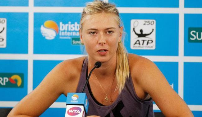 A tenista pegou gancho de dois anos por testar positivo durante teste antidoping - Foto: Ag. Reuters