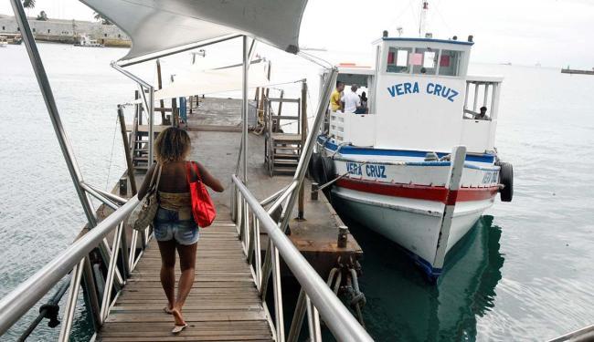 Mau tempo impede a travessia entre Salvador e Mar Grande pelo segundo dia - Foto: Luciano da Matta | Ag. A TARDE