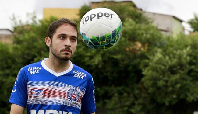 Régis foi contratado para ajudar a resolver o problema da escassez de gols do Tricolor - Foto: Felipe Oliveira l EC Bahia
