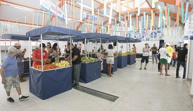 Mercado Antônio Lima tem 18 boxes e custou R$ 1,8 milhão - Foto: Luciano da Matta l Ag. A TARDE