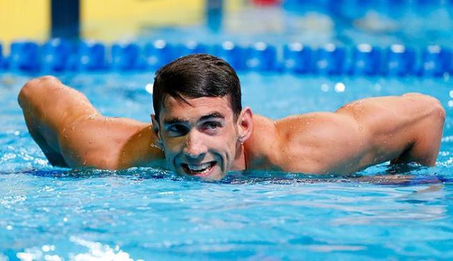 O maior medalhista olímpico do mundo está focado nos 100m e 200m borboleta e nos 200m medley - Foto: Erich Schlegel | Ag. Reuters