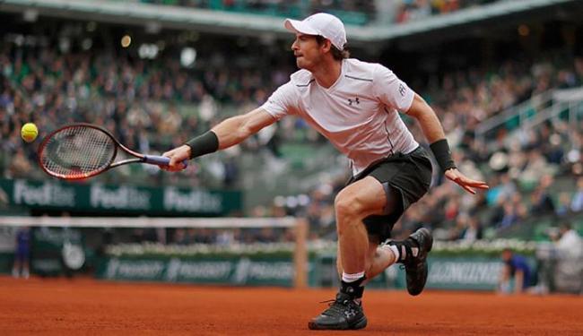 Murray alcançou ontem sua primeira final de Roland Garros - Foto: Gonzalo Fuentes l Reuters