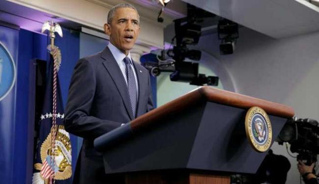 Barack Obama faz pronunciamento sobre o atentado em uma boate de Orlando - Foto: Agência Reuters