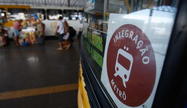 Ônibus e metrô estão integrados desde domingo, 13 - Foto: Raul Spinassé | Ag. A TARDE