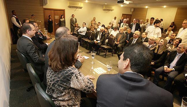 Palestra de Barros integrou programação festiva de 10 anos do Hospital da Bahia - Foto: Joá Souza l Ag. A TARDE