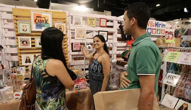 Pop Up Shop funciona no Barra Hall - Foto: Luciano da Matta | Ag. A TARDE