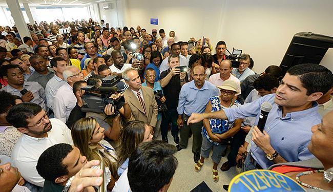 Neto inaugurou o local, que tem capacidade para atender 600 pessoas por dia - Foto: Divulgação l Agecom