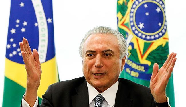 Temer participou neste domingo de festa de aniversário do senador Wilder Morais - Foto: Marcelo Camargo   Agência Brasil