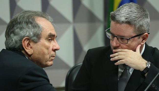 Planejamento foi apresentado pelo relator do colegiado, senador Antonio Anastasia (D) - Foto: Fabio Rodrigues Pozzebom l Agência Brasil