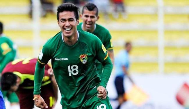 Atacante estava defendendo a seleção boliviana - Foto: Reprodução