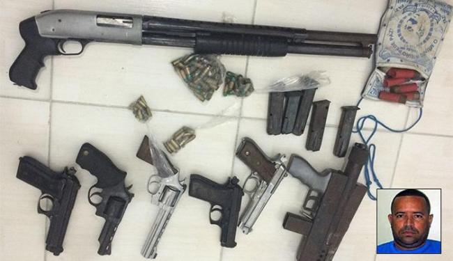 O imóvel era usado pelo bando de Químico como quartel-general - Foto: Divulgação l Polícia Civil