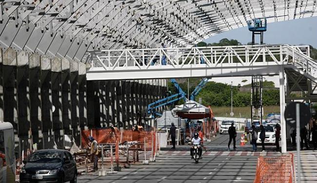Infraero previa inauguração para dezembro de 2013 - Foto: Raul Spinassé l Ag. A TARDE