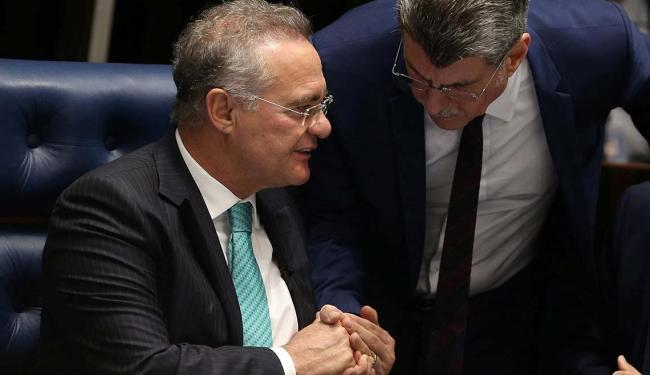 Renan Calheiros e Romero Jucá são citados novamente em delação - Foto: Adriano Machado   Agência Reuters