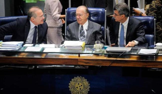 Pedido ocorre após Renan, Sarney e Jucá serem gravados falando sobre a Operação Lava Jato - Foto: Moreira Mariz | Agência Senado