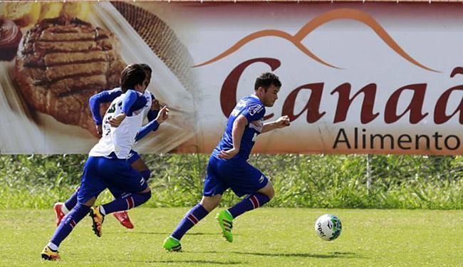 Jogadores participaram de um trabalho tático no CT do Fazendão - Foto: Felipe Oliveira l EC Bahia