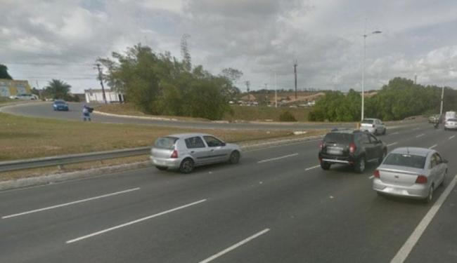 A avenida ainda receberá mais três viadutos no decorrer da construção da Linha 2 do metrô - Foto: Reprodução | Google Maps