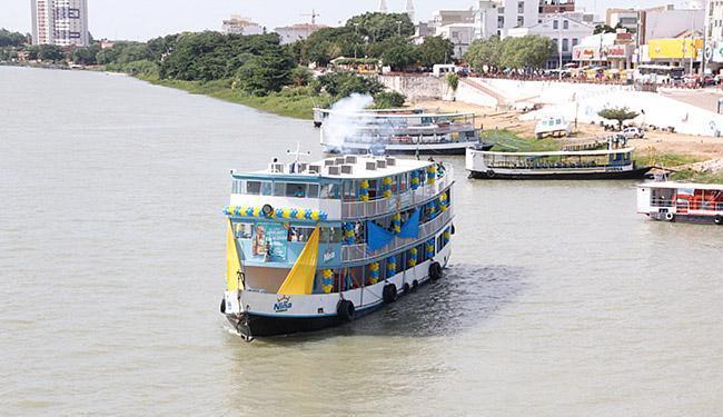 Barcas participam de ação em defesa do Velho Chico - Foto: Ivan Cruz (Acervo Chesf) l Divulgação