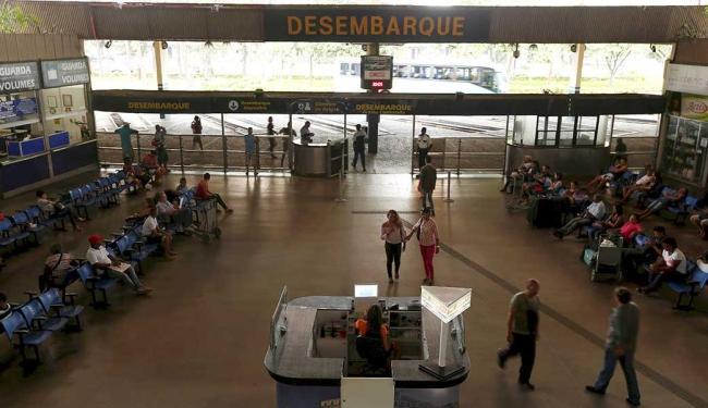 A rodoviária atual será desocupada e ficará à disposição do Estado para uma nova destinação - Foto: Lucas Melo | Ag. A TARDE