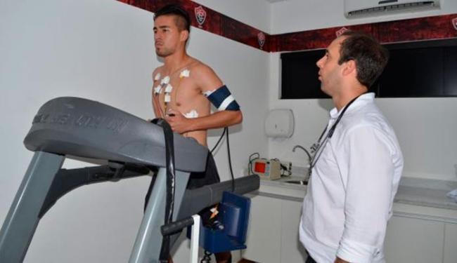 Ramallo firmou contrato com o Leão até junho de 2017 - Foto: Divulgação   E.C.Vitória