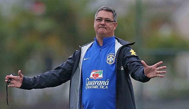 Micale assumiu a seleção sub-20 do Brasil no ano passado, após a saída de Alexandre Gallo - Foto: Rafael Ribeiro l CBF