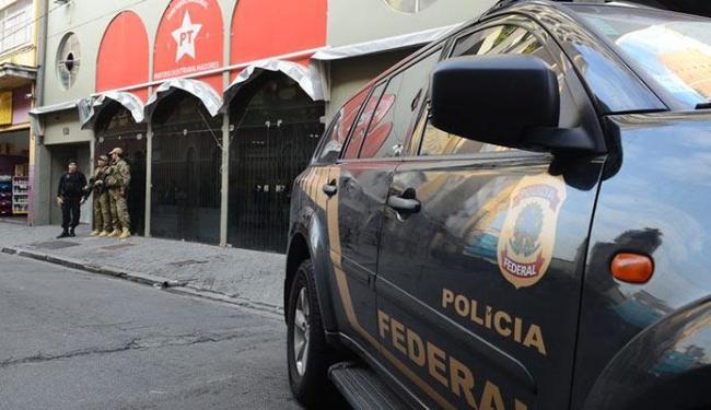 Agentes da Polícia Federal recolheram - Foto: Rovena Rosa | Agência Brasil