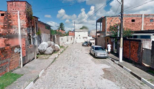 Crime aconteceu na rua Balbino Bispo Santos, no bairro de Itinga, em Lauro - Foto: Reprodução | Google Street View
