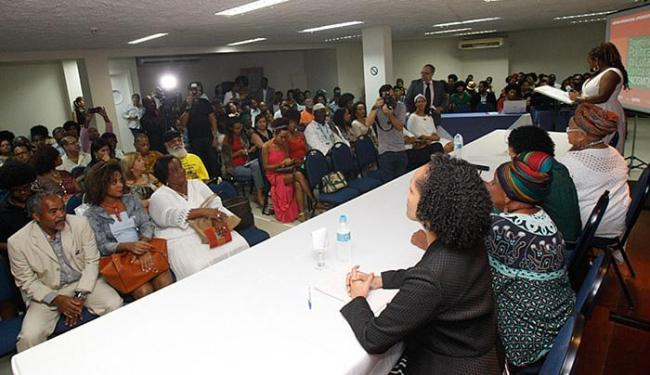 Participam pesquisadores, militantes do movimento negro e representantes da sociedade civil - Foto: Margarida Neide l Ag. A TARDE