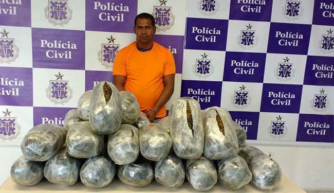 Sérgio foi interceptadona saída do município de Camaçari - Foto: Divulgação | Polícia Civil