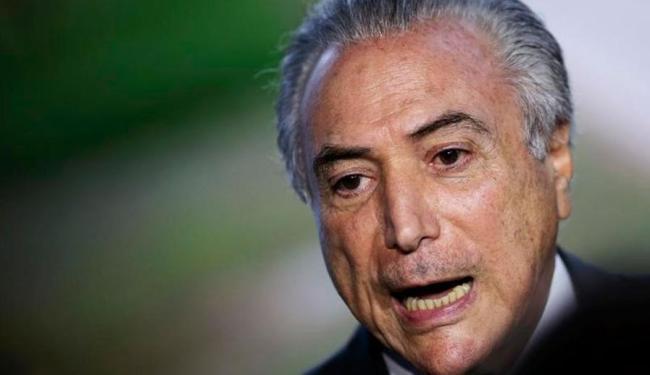Michel Temer assumiu o governo interino após o Senado aprovar o afastamento de Dilma Rousseff - Foto: Agência Reuters