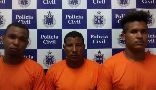 Lucas (à direita) teria oferecido R$ 100 mil - Foto: Ascom | Polícia Civil