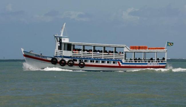 Travessia Salvador-Mar Grande faz parada de duas horas, das 9h às 11h - Foto: Erik Salles | Ag. A TARDE