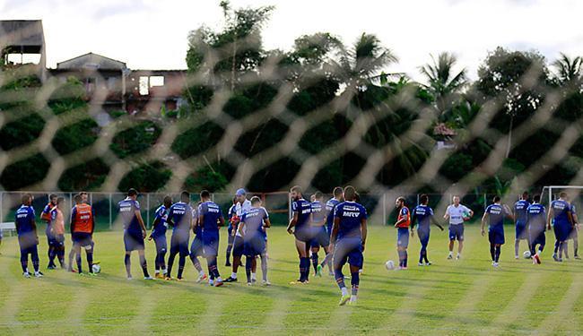Rede do Tricolor foi vazada em só dois dos oito primeiros jogos - Foto: Felipe Oliveira l EC Bahia