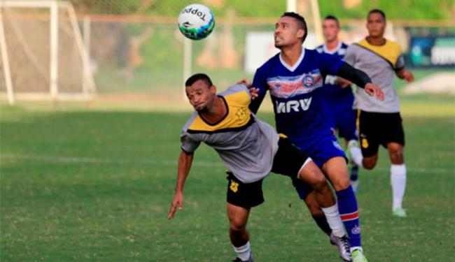 Reservas do Bahia disputaram coletivo com time do Ypiranga - Foto: Felipe Oliveira | Divulgação | E.C.Bahia