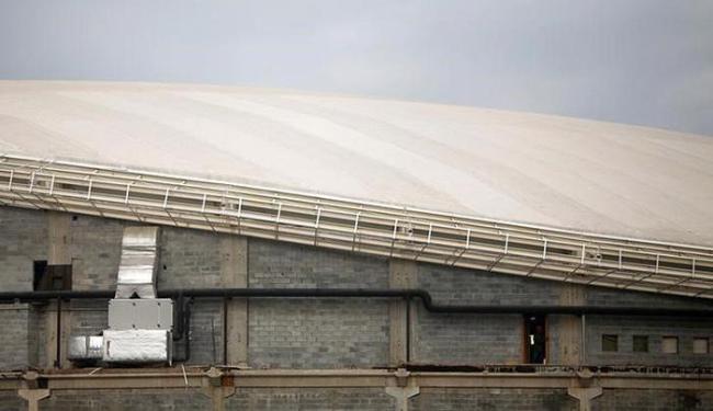Velódromo só deve ficar pronto a menos de um mês dos Jogos Olímpicos - Foto: Ricardo Moraes l Reuters