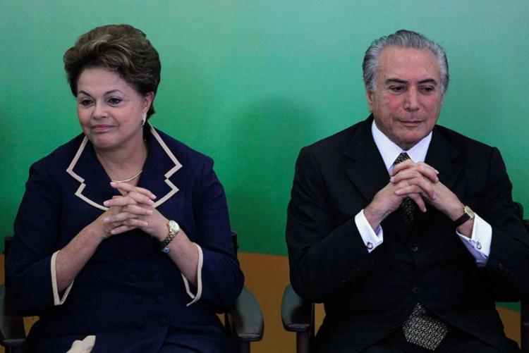 Dilma e Temer - Foto: Ueslei Marcelino | Reuters