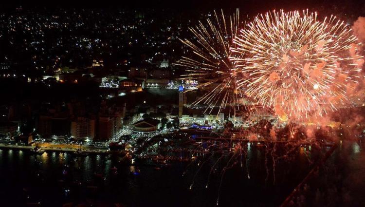 Festa de Réveillon será, mais uma vez, na Praça Cairu, no Comércio - Foto: Valter Pontes | Agecom