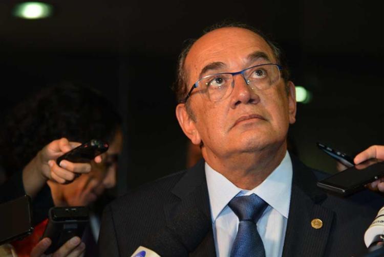 Gilmar Mendes vai analisar o processo contra o senador afastado Aécio Neves - Foto: Antonio Cruz | Agência Brasil